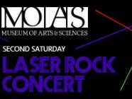 Second Saturday Laser Rock Concert
